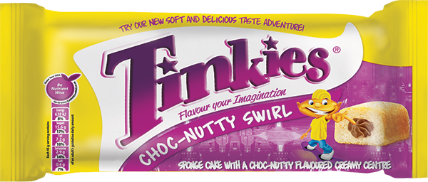 Tinkies Choc-Nutty Swirl